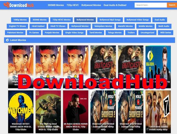 Downloadhub 2020: Download 300MB Hd Bollywood, Hollywood Movies